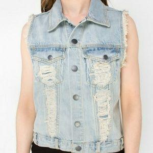 Volcom High Strung Jean Vest